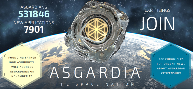 Asgardia, the first ever space nation – a global, unifying and humanitarian project. The project's concept comprises three parts – philosophical, legal and scientific/technological.